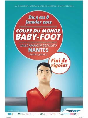 Affiche de la coupe du monde 2012 - Fini de rigoler