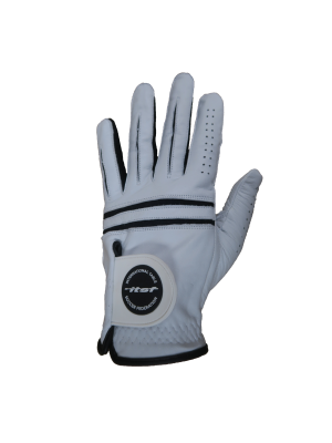 Black & White ITSF Leather Glove (Male)